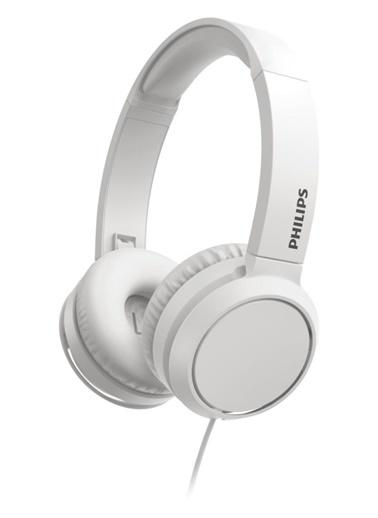 Philips Philips Tah4105 Beyaz Kablolu Kulak Üstü Kulaklık Renkli